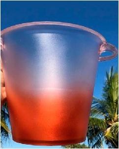 Brindes Personalizados -  Balde de gelo Personalizado para Casamento