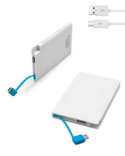 Brindes Personalizados -  Bateria Externa Personalizada para Smartphone