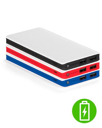 Brindes Personalizados -  Bateria Portátil Colorida para Brindes