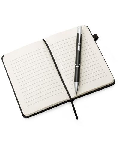 Brindes Personalizados -  Caderneta de Anotações Personalizada