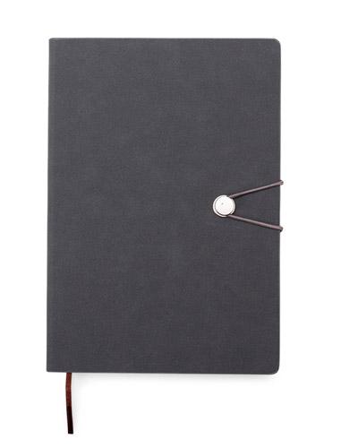 Brindes Personalizados -  Caderneta Moleskine Emborrachada Personalizada