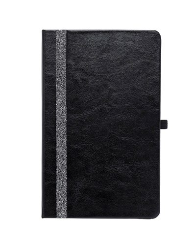 Brindes Personalizados -  Caderno Capa Dura Swarovski Elegant
