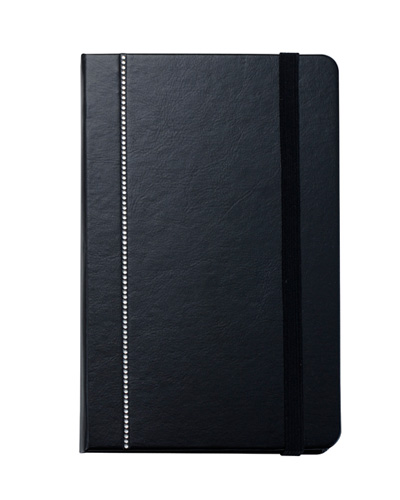 Brindes Personalizados -  Caderno Capa Dura Swarovski Essential