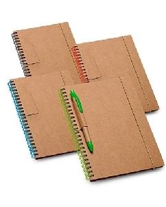 Brindes Personalizados -  Caderno Ecológico Promocional