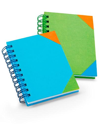 Brindes Personalizados -  Caderno Espiral Personalizado