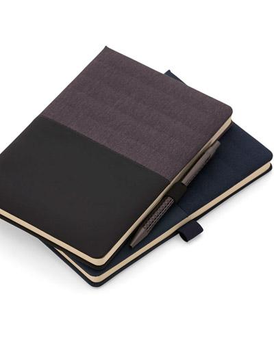 Brindes Personalizados -  Caderno Executivo Personalizado