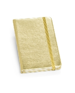 Caderno Moleskine Capa Metalizada para Brindes