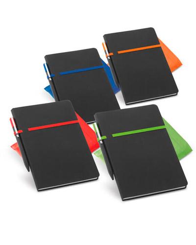 Brindes Personalizados -  Caderno Personalizado Capa Dura com 96 folhas