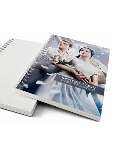 Brindes Personalizados -  Caderno Universitario Personalizado