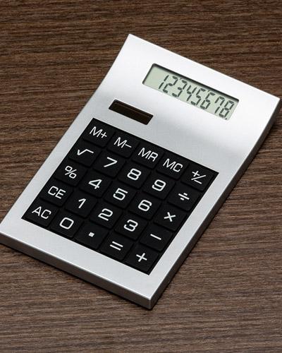 Brindes Personalizados -  Calculadora 8 Dígitos Promocional