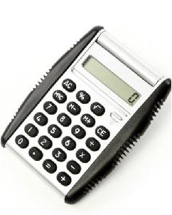 Calculadora com Detalhes em Borracha