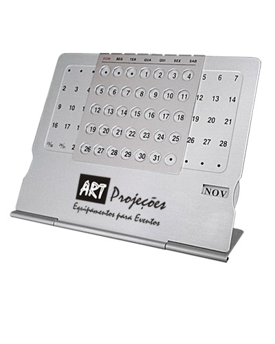 Brindes Personalizados -  Calendário de Mesa Personalizado Permanente