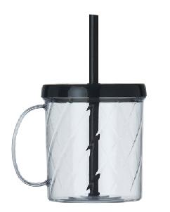 Brindes Personalizados -  Caneca com Canudo Personalizado