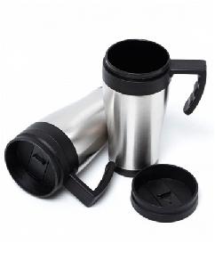 Caneca Térmica de Alumínio Personalizada - Brindes