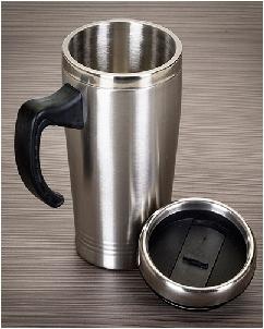 Brindes Personalizados -  Canecas Termicas de Alumínio Coloridas