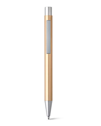Brindes Personalizados -  Caneta Esferográfica em Alumínio Personalizada