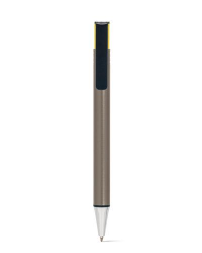 Brindes Personalizados -  Caneta Metálica Colorida Personalizada