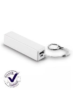 Carregador Portátil USB Personalizado - Brindes