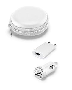 Brindes Personalizados -  Carregador Veicular USB