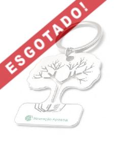 Brindes Personalizados -  Chaveiro de Metal Árvore Personalizado