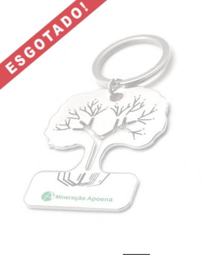 Chaveiro de Metal Árvore Personalizado