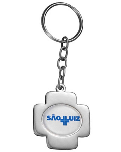 Brindes Personalizados -  Chaveiro Miniatura Cruz