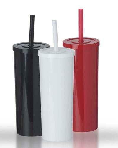 Brindes Personalizados -  Copo Long Drink com Tampa Personalizado