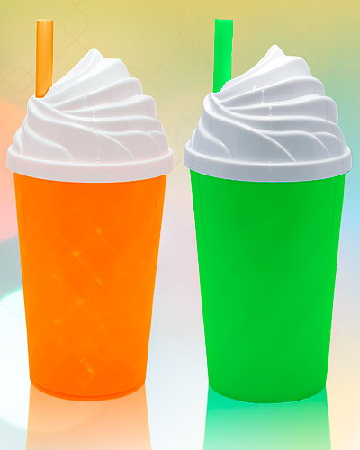 Brindes Personalizados -  Copo Milk Shake para Personalizar