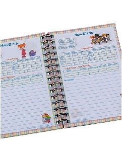 Diario do Bebe Personalizado