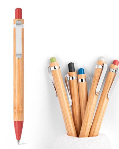 Esferografica Personalizada de Bambu