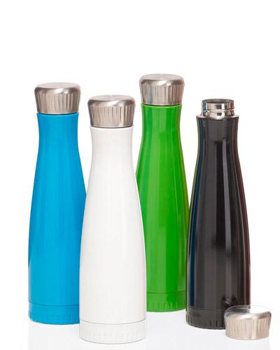 Brindes Personalizados -  Garrafa de Aço Inox Personalizada