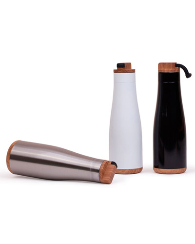 Brindes Personalizados -  Garrafa de Água de Aço Inoxidável Personalizada