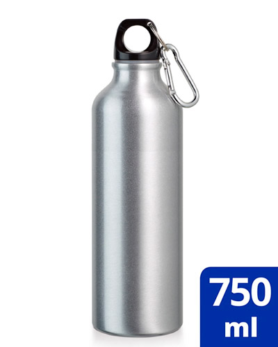 Brindes Personalizados -  Garrafa de Alumínio Esportiva Personalizada