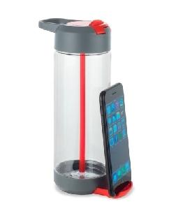 Garrafa Squeeze com Porta Celular para Brindes