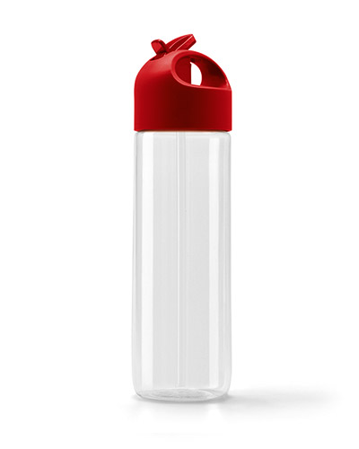 Brindes Personalizados -  Garrafa Squeeze Personalizado com Canudo