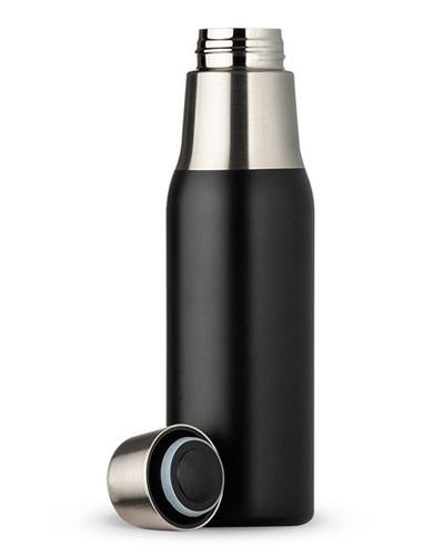 Brindes Personalizados -  Garrafa Térmica Personalizada Preto Fosco