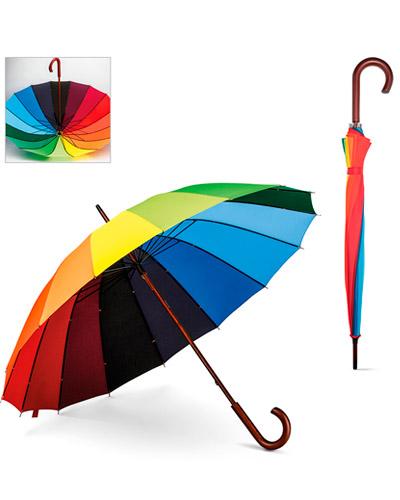 Guarda Chuva Arco Iris Personalizado