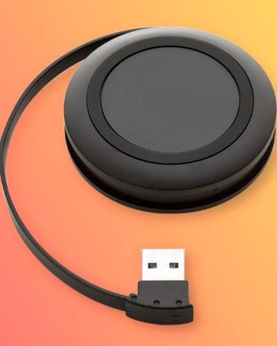 Hub USB Carregador Personalizado
