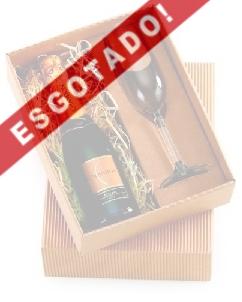 Brindes Personalizados -  Kit Champagne Personalizado