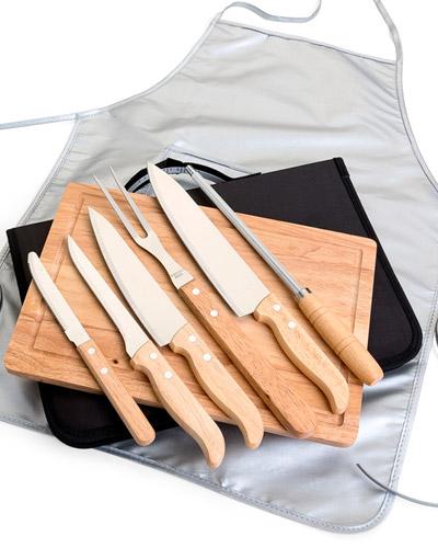 Brindes Personalizados -  kit Churrasqueiro com Avental