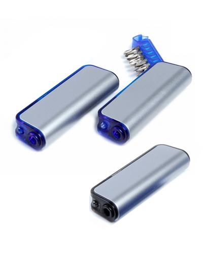 Brindes Personalizados -  Kit de Ferramentas com Lanterna Personalizado