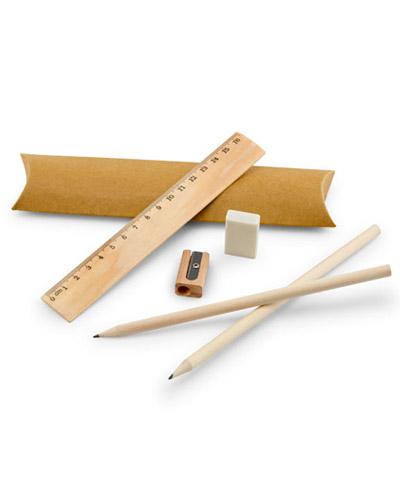 Brindes Personalizados -  Kit Escolar Completo Personalizado para Brindes