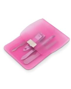 Kit Manicure Rosa Personalizado