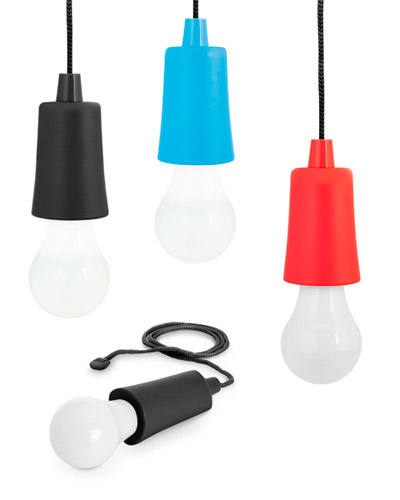 Brindes Personalizados -  Lampada Led Portátil Personalizada