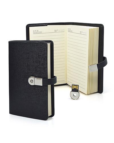 Brindes Personalizados -  Mini Agenda Personalizada com Pen drive