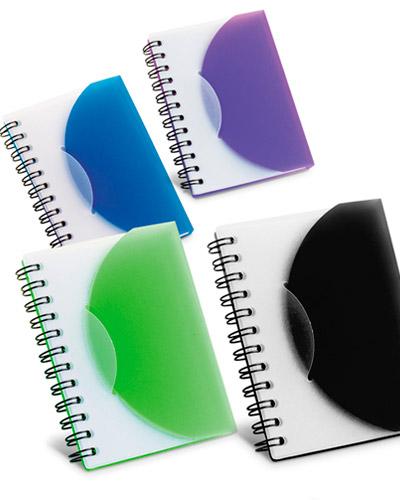 Brindes Personalizados -  Mini Caderno de Anotações Personalizado
