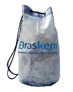 Brindes Personalizados -  Mochila Saco em PVC Personalizada