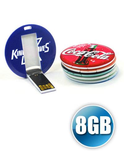 Brindes Personalizados -  Pen card 8GB Personalizado para Brinde
