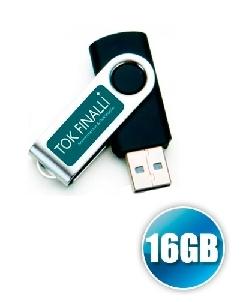 Brindes Personalizados -  Pen drive 16gb Personalizado