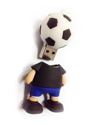 Brindes Personalizados -  Pen drive 3D Customizado em Borracha